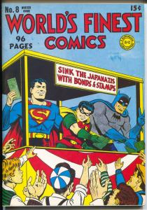 Flashback #38 1976-Reprints World's Finest Comics #8 from 1942-NM
