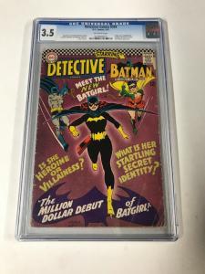 Detective Comics 359 Cgc 3.5 Ow Pages 1st Barbara Gordon Dc Comics
