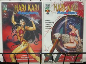 HARI KARI PRIVATE GALLERY (1996 BLACK OUT) 0-0A  PIN-UP