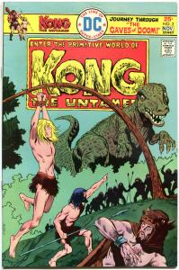 KONG #1 2 3 4 5, 5 issues, 1975, Bernie Wrightson, Alfredo Alcala, more in store