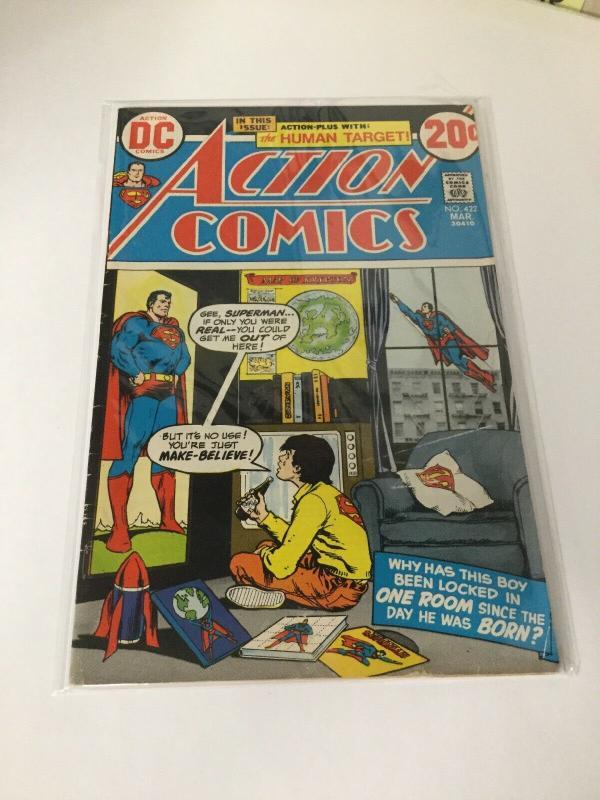 Action Comics 422 5.0 Vg/Fn Very Good Fine DC Comics