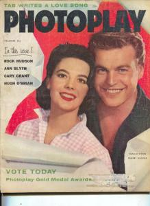 Photoplay-Robert Wagner-Natalie Wood-Rock Hudson-Hugh O'Brian-Burt Lancaster-Dec