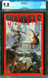 Marvels #0 CGC Graded 9.8