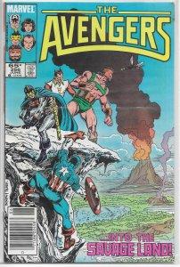 Avengers   vol. 1   #256 VG