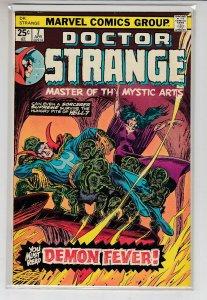 DOCTOR STRANGE (1974 MARVEL) #7 FN- A46666