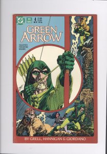 Green Arrow # 4   NM-   (1987)   High Grade