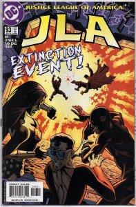 DC Comics JLA #93 Superman, Batman, Wonder Woman, Flash Plastic Man - Extinction