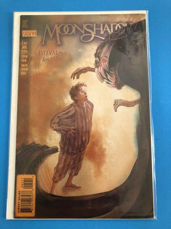MOONSHADOW  #5 OF 12 1994  DC / VERTIGO / DEIRECT SALES / UNREAD / NM+
