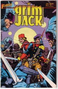 Grimjack   # 7 VG (First Comics) Ostrander/Truman