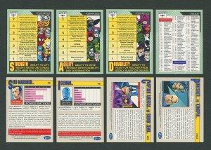 1991 Marvel Comics II Card Set NM-MT