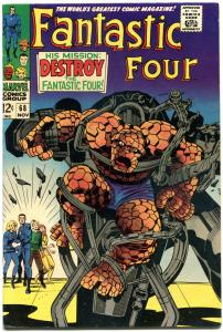 FANTASTIC FOUR #68, VF, Destroy the FF, Jack Kirby, 1961, more FF in store, QXT