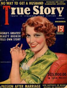 True Story 12/1937-MacFadden-Jeanette MacDonald-Sing Sing prison-G/VG