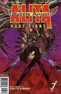 Battle Angel Alita Part 8 #7 VF; Viz | save on shipping - details inside