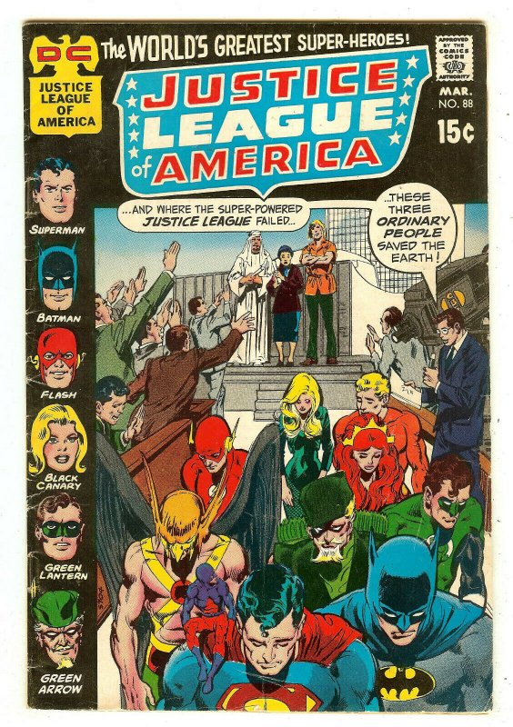 Justice League Of America 88