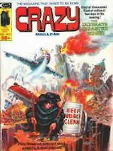 Crazy (Magazine) #11 FN; Marvel   save on shipping - details inside