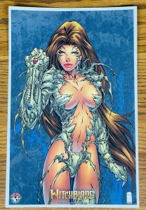 WITCHBLADE GAUNTLET SEXY 2021 LITHOGRAPH PRINT 7 x 11 LITHO Comic Top Cow