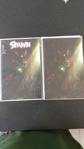 SPAWN 291 COVERS A & B VARIANT MATTINA COVER MCFARLANE IMAGE COMICS 2 BOOKS