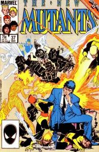 New Mutants (1983 series) #37, NM- (Stock photo)