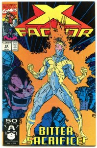 X-Factor #68 1991- Cable Origin issue- NM-
