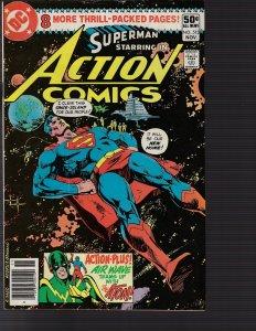 Action Comics #513 (DC, 1980)  NM- KEY 1st H.I.V.E.