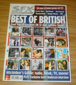 SFX Special Edition #22 VF/NM sfx collection best of british - top 50 UK shows