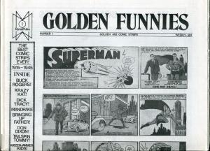 Golden Funnies #1 1973-1st issue-newspaper comics reprints-Superman-Krazy Kat-NM