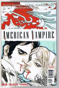 AMERICAN VAMPIRE #3, NM-, Stephen King, Vertigo, 2010, Blood Vengeance