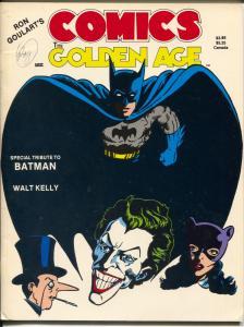 Comics The Golden Age #5 1985-Batman tribute-Joker-Penquin-Nick Carter-FN-