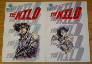 the Wild #1-2 VF- complete series - eastern comics - manga set lot 1988