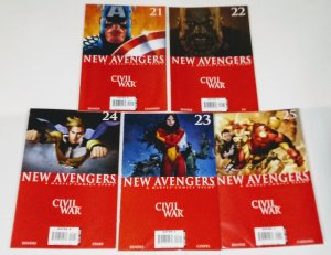 New Avengers Lot of (5) CIVIL-WAR! see more MARVEL comic lots in store! B-5/05
