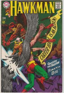 Hawkman #22 (Nov-67) VF+ High-Grade Hawkman