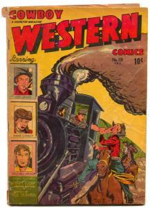 Cowboy Western #19 1948- Annie Oakley- Jesse James G