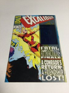 Excalibur 71 Nm Near Mint Newsstand Edition Marvel