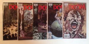 Edge Of Doom 1-5 Complete Near Mint Lot Set Run IDW