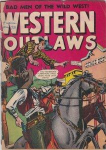Western Outlaws 19 FR/GD  (Fox Jan. 1949)