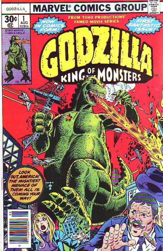 Godzilla King of the Monsters #1 (Aug-77) NM/NM- High-Grade Godzilla