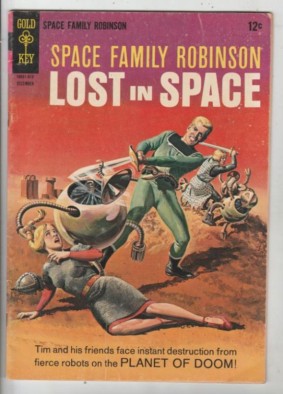 Space Family Robinson, Lost in Space #19 (Dec-66) FN+ Mid-High-Grade Will Rob...
