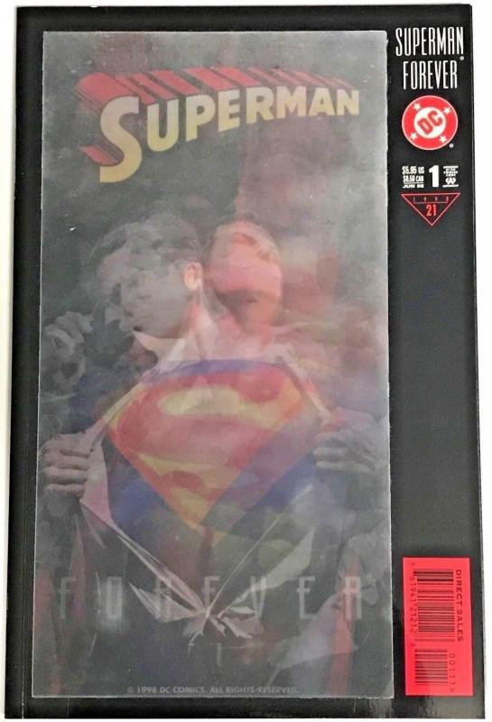 SUPERMAN FOREVER#1 NM 1998 DC COMICS