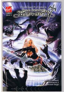 JENNA JAMESON'S SHADOW HUNTER 3, Greg Horn, 2007, NM+, more Good Girl in store