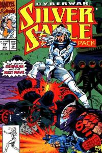 Silver Sable and the Wild Pack #11, NM- (Stock photo)