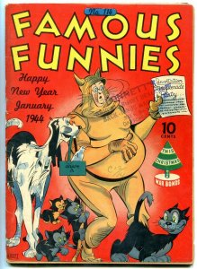 FAMOUS FUNNIES #114 1944-NAPOLEON-BUCK ROGERS-INVISIBLE VG