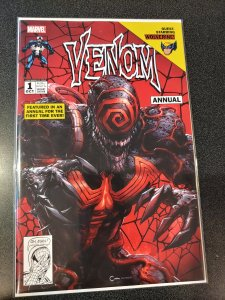 VENOM ANNUAL #1 CLAYTON CRAIN VARIANT ~ Scorpion Comics Exclusive ~ Marvel