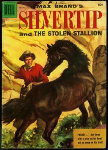 MAX BRAND'S SILVERTIP-DELL FOUR COLOR COMICS #667 1955-VG