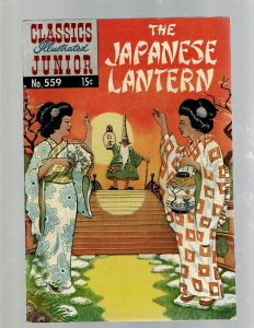 The Japanese Lantern Classics Illustrated Junior # 559 VF Gilberton Comic Bo SB5
