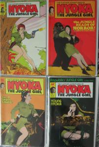 Further Adventures of Nyoka the Jungle Girl #1-4 (1988) AC Comics F-VF serial