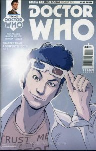 Doctor Who: The Tenth Doctor Year Three #3A VF/NM; Titan | save on shipping - de