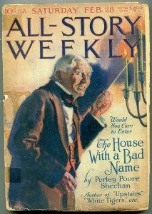 All-Story Weekly February 28 1920- Ray Cummings- Perley Poore Sheenan