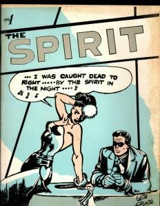 Lot Of 5 Spirit Comic Book Magazines # 1 7 19 32 41 Will Eisner Quarterly NE2