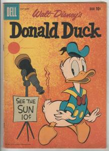 Donald Duck #71 (May-60) FN/VF Mid-High-Grade Donald Duck