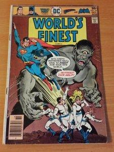 World's Finest Comics #241 ~ GOOD - VERY GOOD VG ~ 1976 DC Batman & Superman!